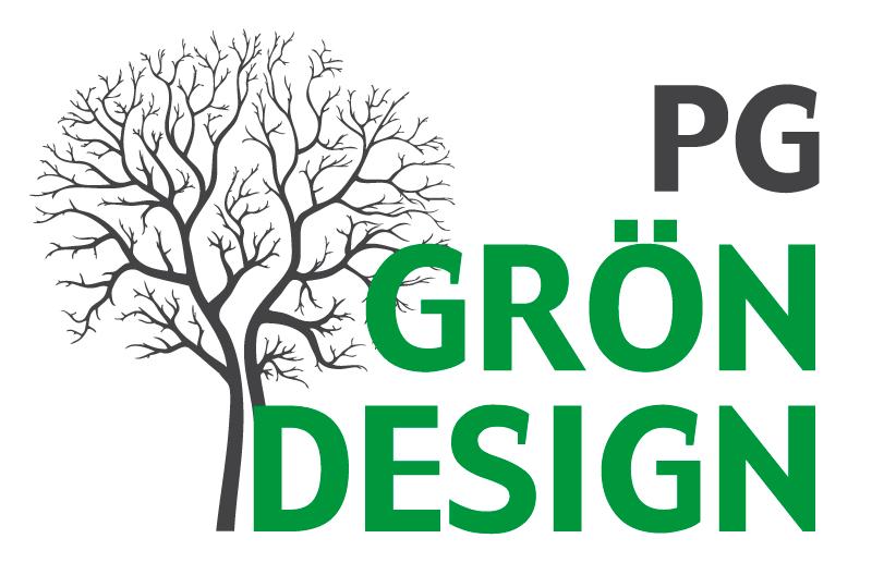 Pg Grön Design Logo